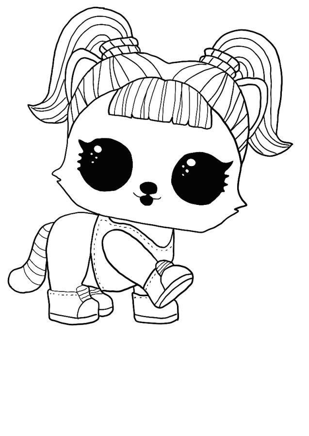 LOL surprise winter disco coloring pages OH BANDIT, BANDIT ...