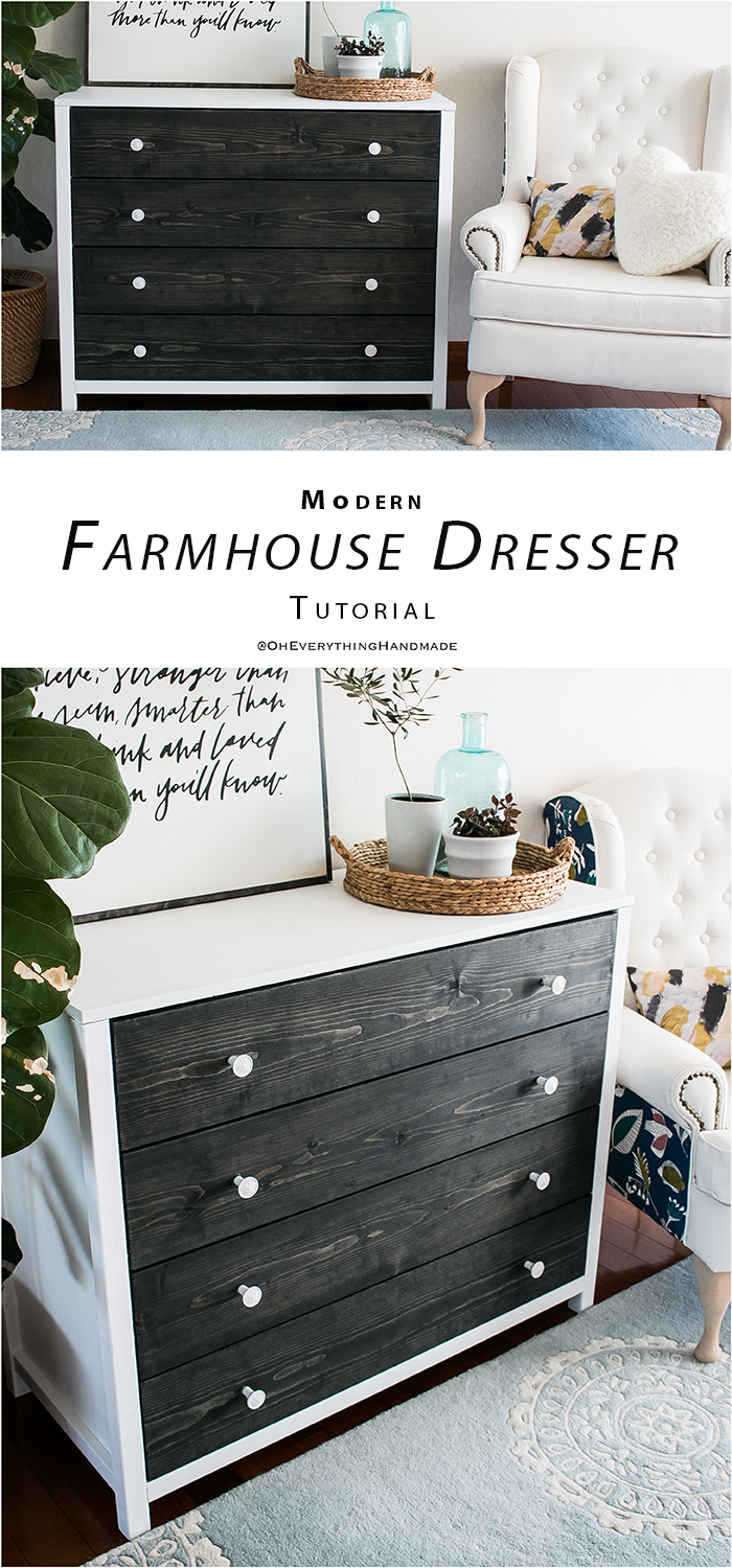 Modern farmhouse style dresser diy pinterest for Modern farmhouse cost to build