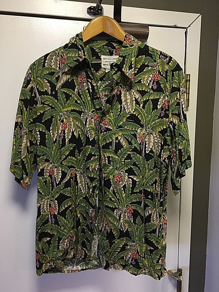 c47c9a3bf Vintage Reyn Spooner Rayon Hawaiian Shirt PALM FRONDS Size M #fashion  #clothing #shoes #accessories #vintage #mensvintageclothing (ebay link)