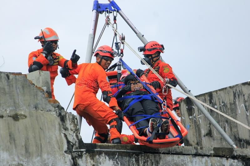 National Rescue Action. 26/07/2016, Yogyakarta, Indonesia