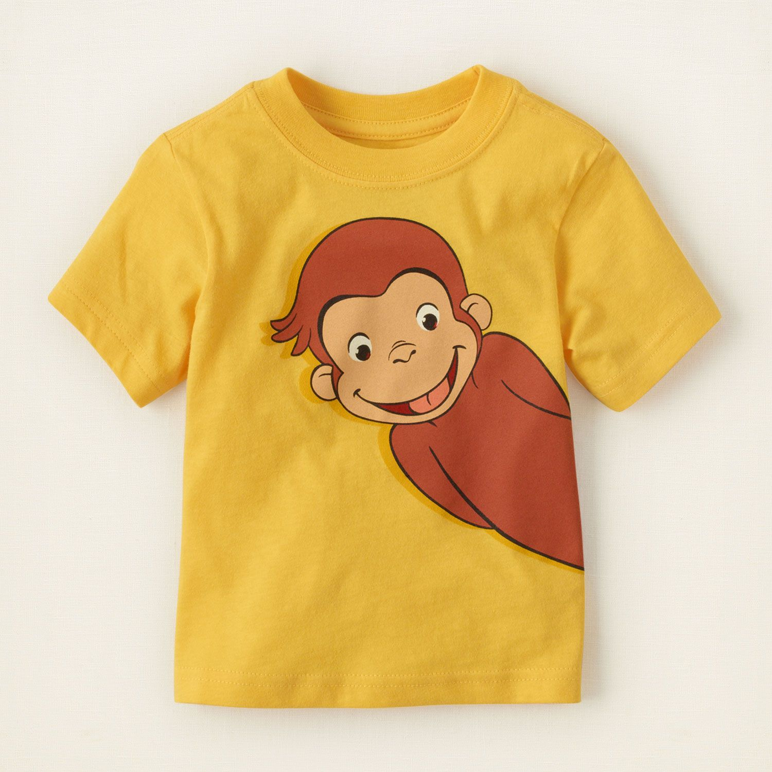 5cf457cf baby boy - graphic tees - Curious George graphic tee | Children's Clothing  | Kids Clothes | The Children's Place