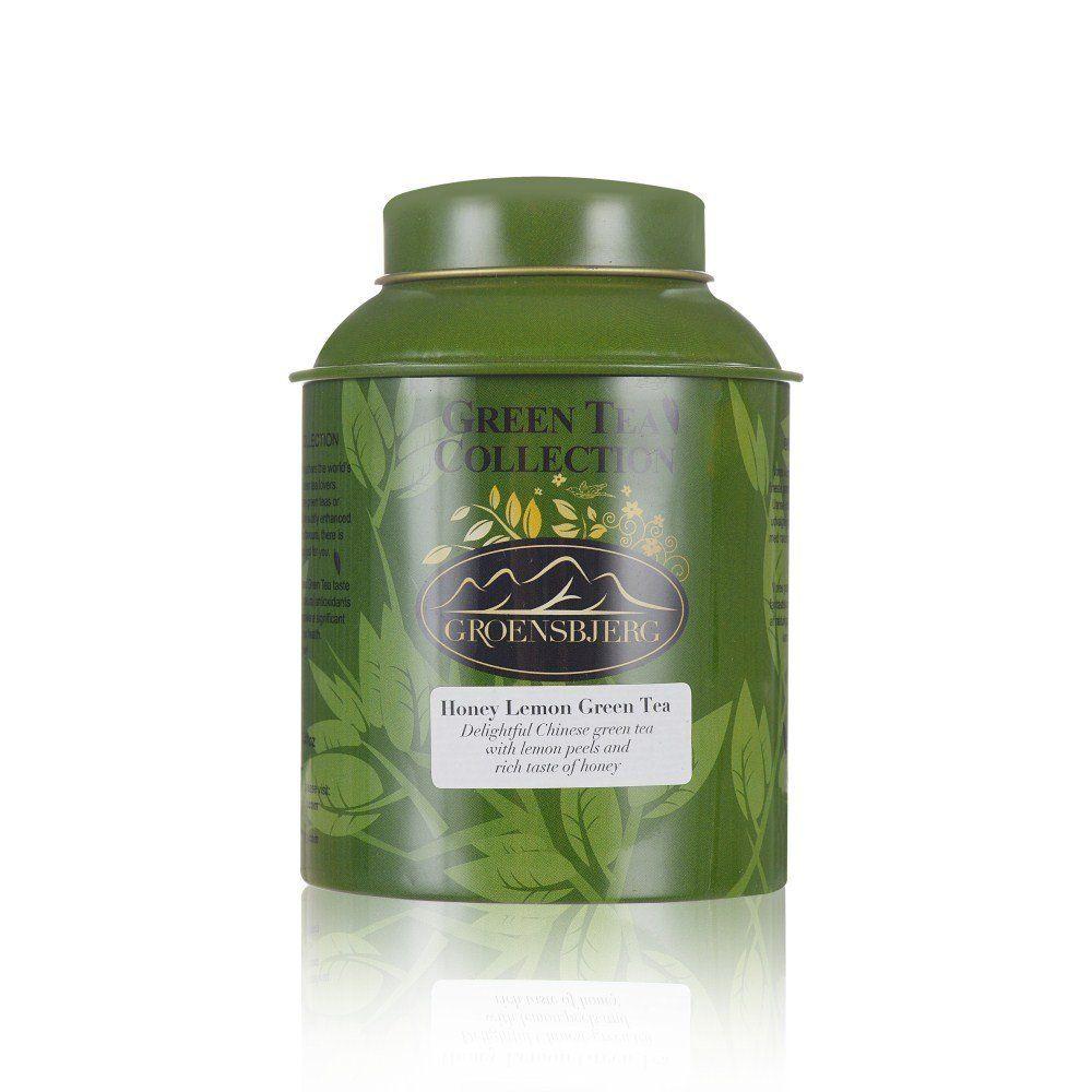 GROENSBJERG Green Tea Loose Leaf Organic Honey Lemon Tea 3 oz 90g >>> Visit the image link more details. (This is an affiliate link) #GreenTea