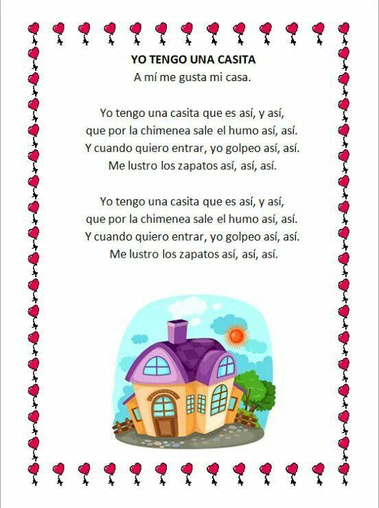 Pin De Nadia Cangalaya En Cancionero Canciones Infantiles Canciones Infantiles Preescolar Letras De Canciones Infantiles