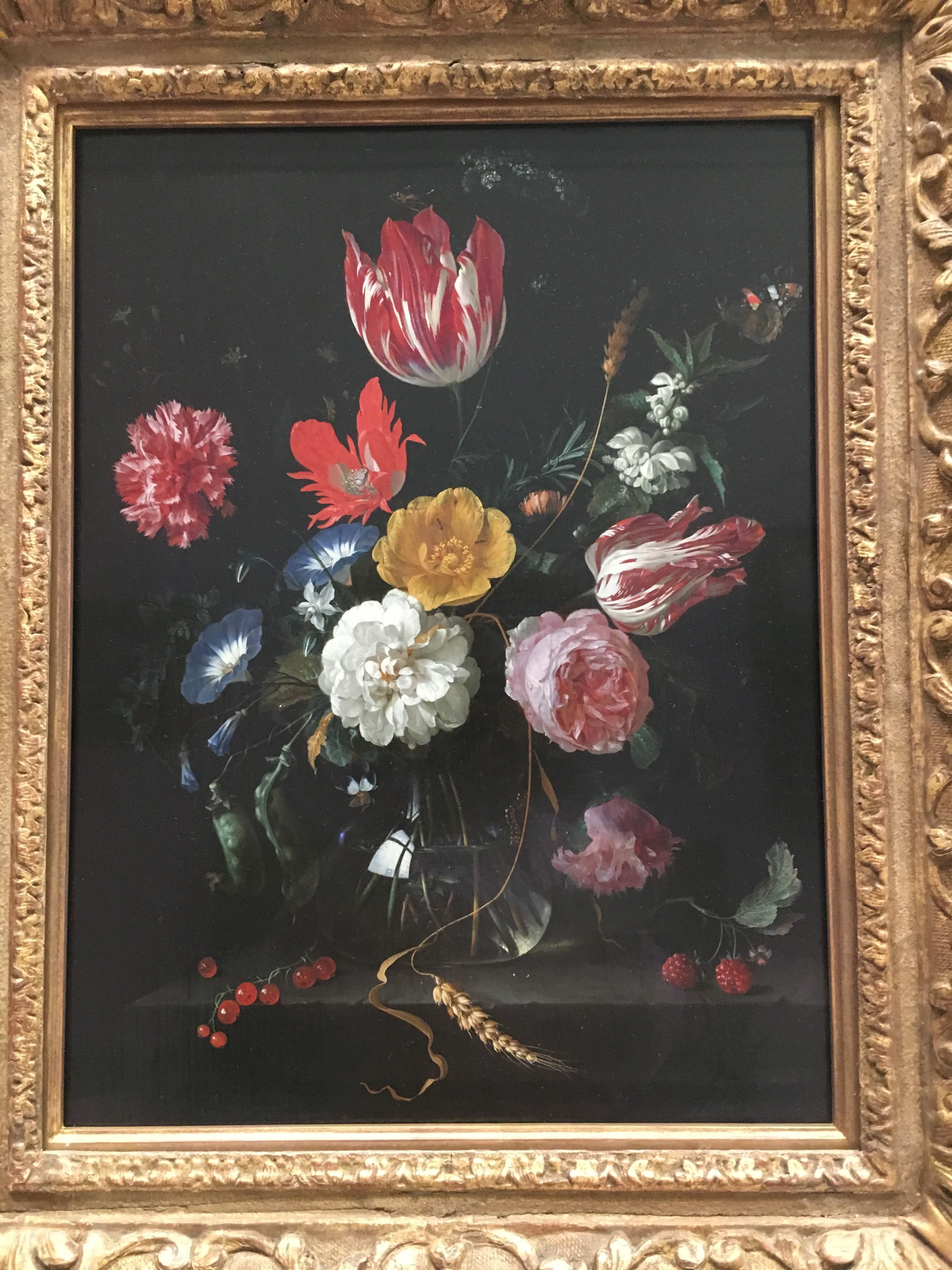 Dutch Flower Painting MFA Boston Flower painting