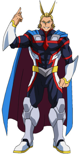 Young All Might Profile Png My Hero My Hero Academia Character Design