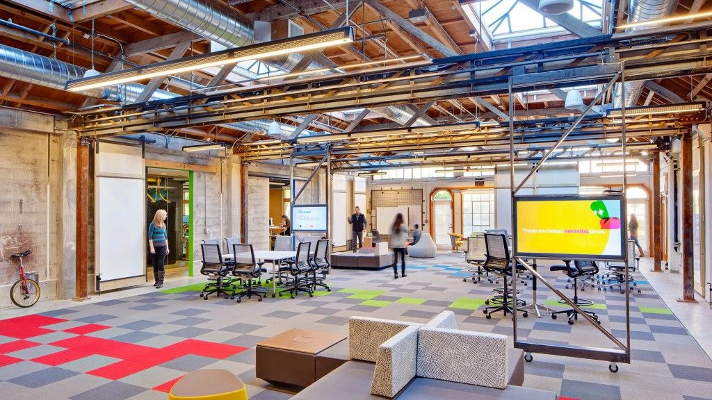 gensler california workplace commercial office design and interiors
