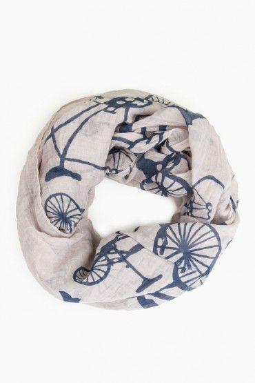 Bike Print Scarf.