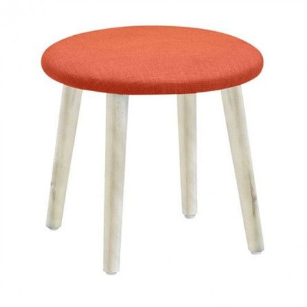 @rosenberryrooms is offering $20 OFF your purchase! Share the news and save! (*Minimum purchase required.) Edgewater Stool Orange #rosenberryrooms