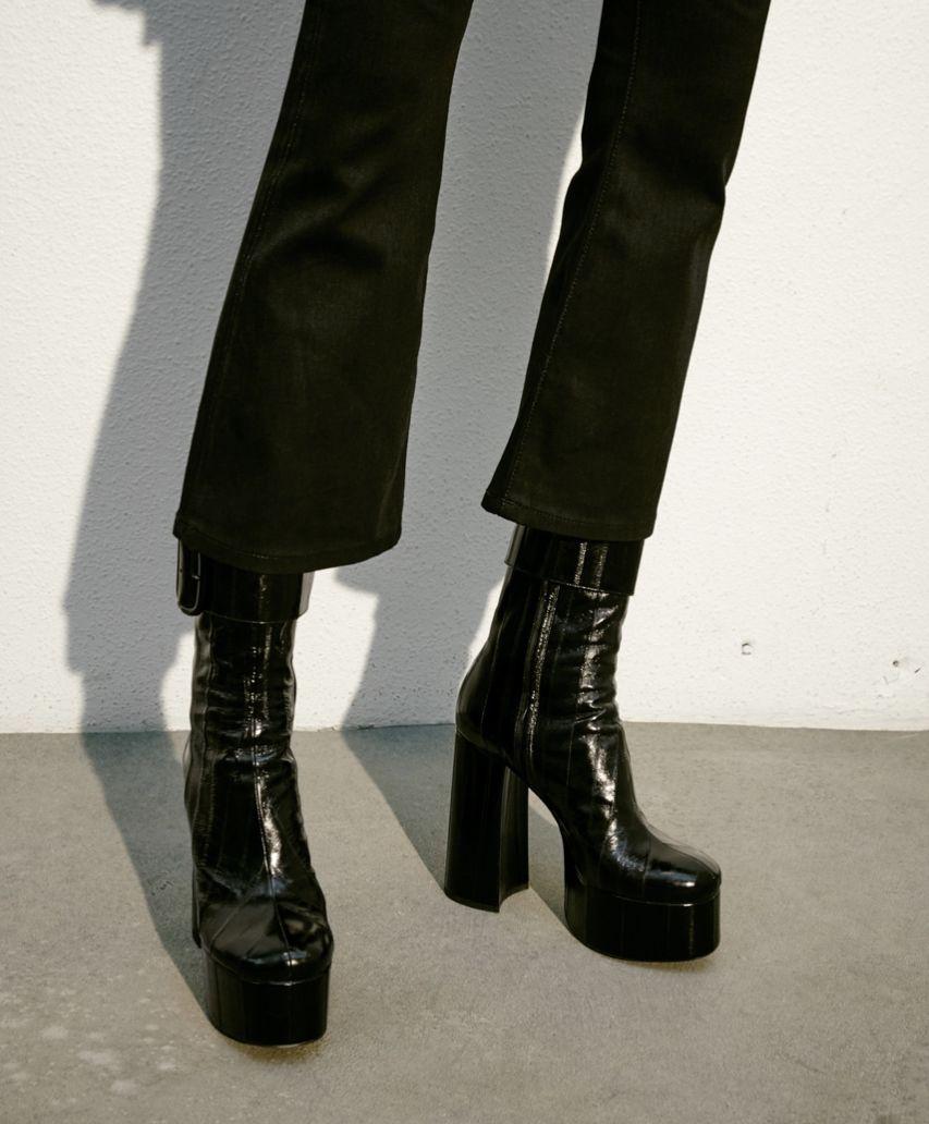 Saint Laurent 2018 embossed boots