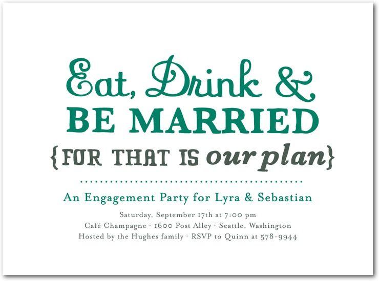 Chic Engagement Party Invitations Wedding Stationery Wednesday Wedding Paper Divas