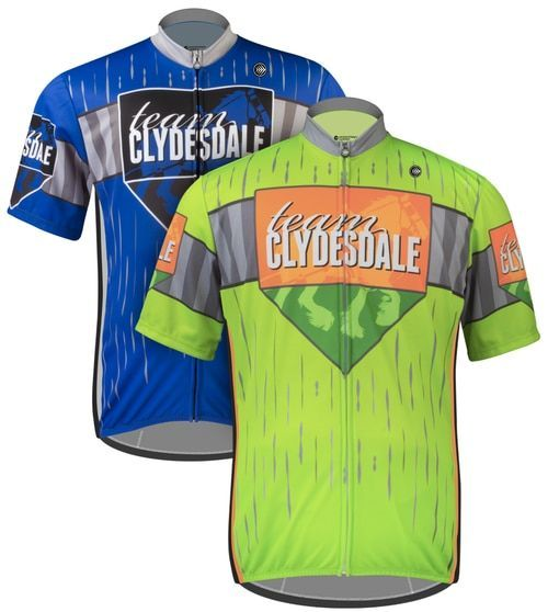 Aero Tech BIG Mens Sprint Cycling Jersey - Team Clydesdale  c1a429f16