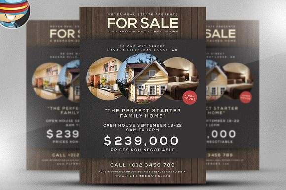 Check out Family Home Flyer Template by FlyerHeroes on Creative