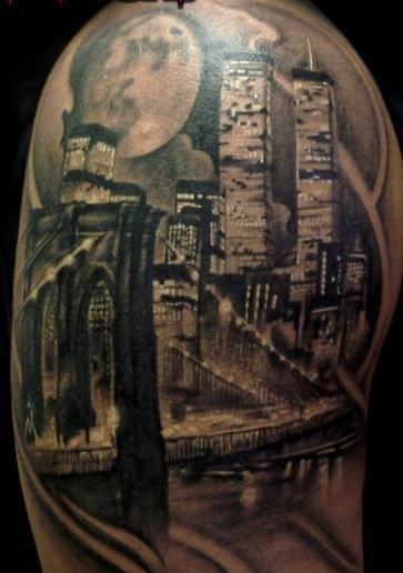 New York Tattoo, Tattoos, Best 3d Tattoos