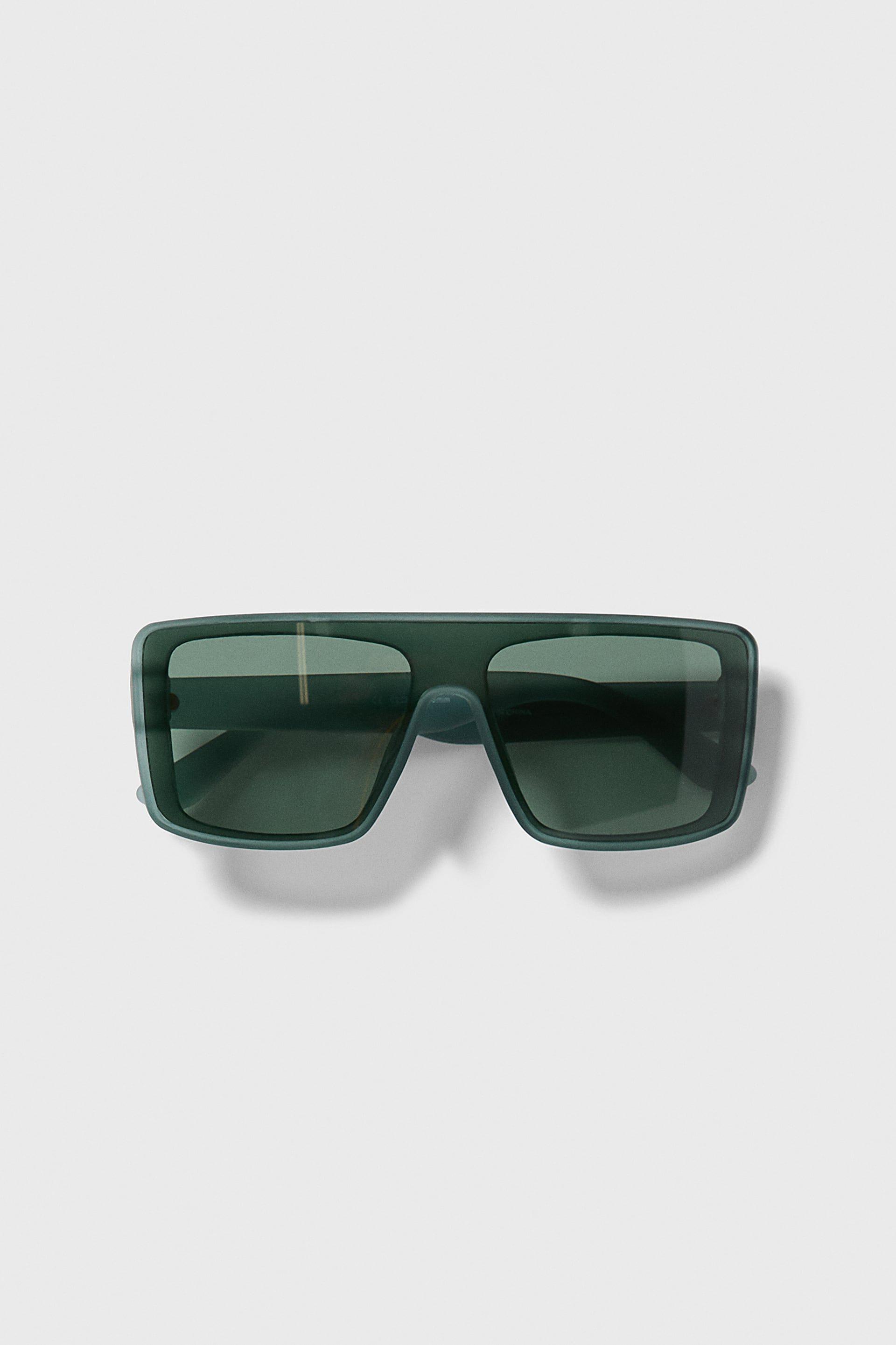 2//set Futuristic  Mirrored Sunglasses Monoblock Shield Glasses Silver