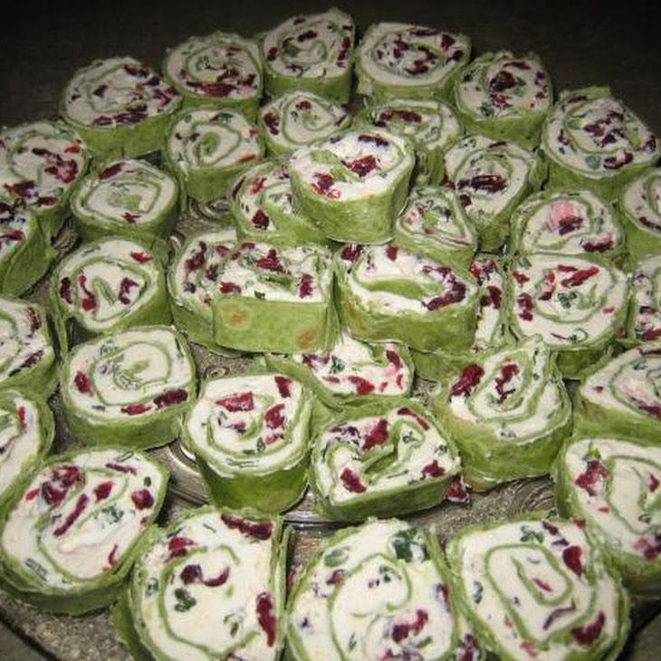 Simple  Delicious Cranberry Cream Cheese Pinwheels Recipe