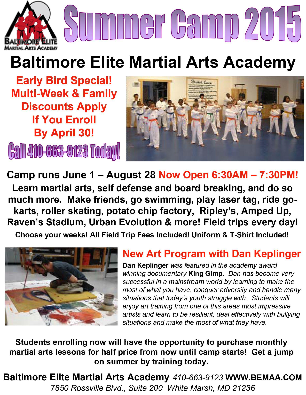 New art program with dan keplinger at baltimore elite