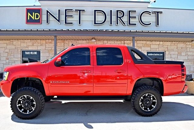 Net Direct Trucks >> 2008 Chevrolet Avalanche Lt1 Lifted 4wd Fort Worth Tx