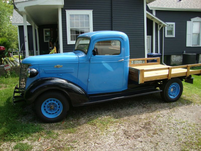 1938 Chevy 1 2 Ton Pick Up Flatbed Chevy Chevy Pickups Truck Bed