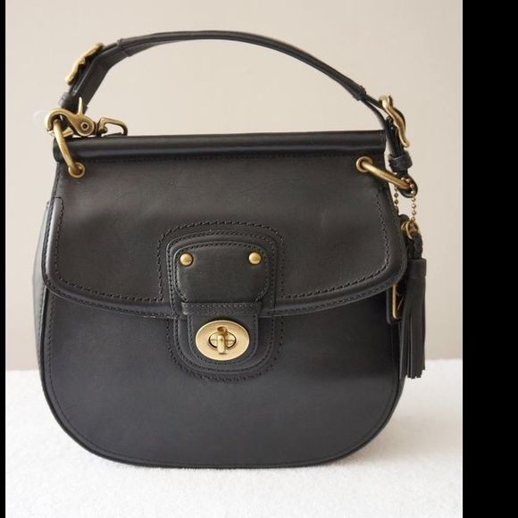 Coach Willis Legacy special edition vintage style Purse, used once, great condition. Coach Bags
