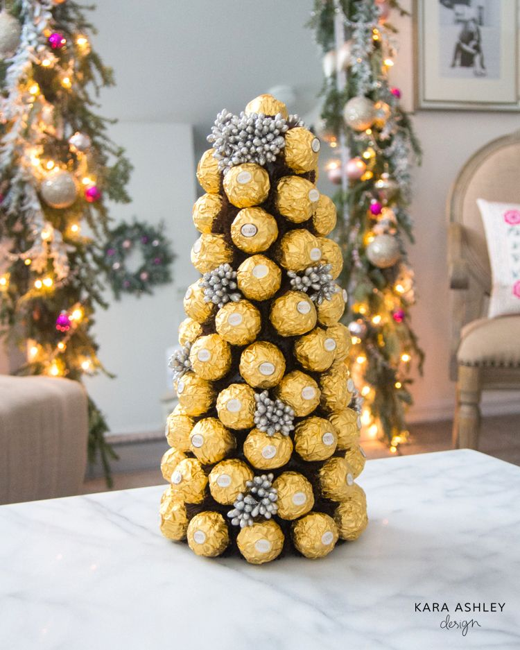 Diy Ferrero Rocher Tree Kara Ashley Shreeve