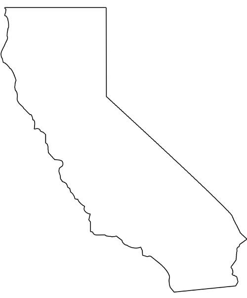 photo regarding California Outline Printable identified as california condition Words and phrases of Employ the service of for the Printable Form of