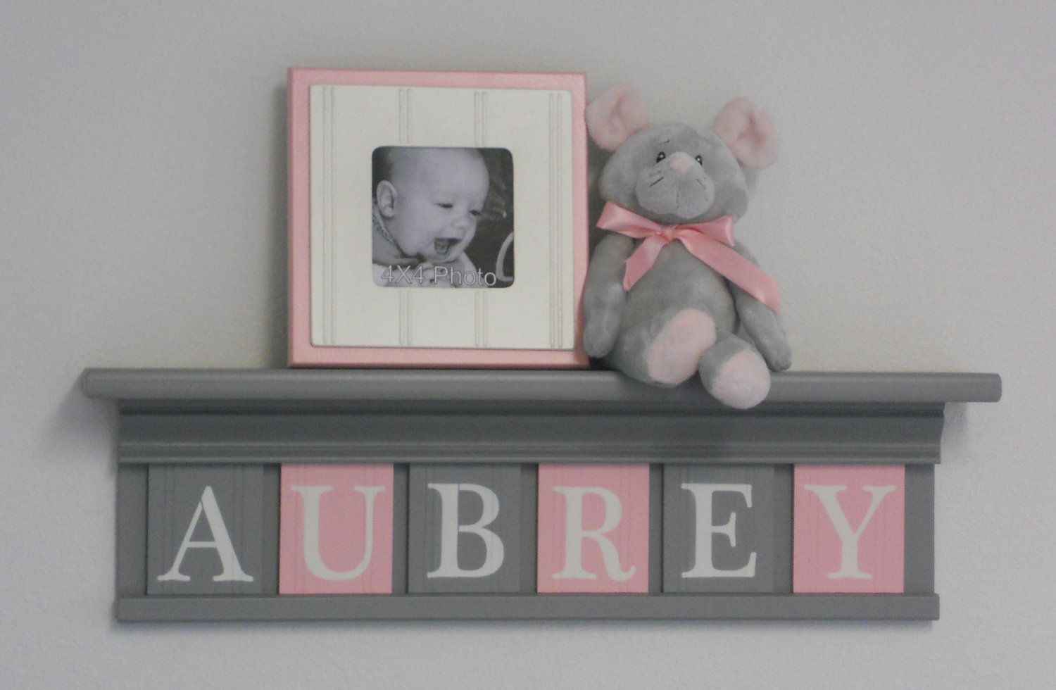 Best Gray And Pink Pastel Light Pink Baby Girl Nursery Decor 400 x 300