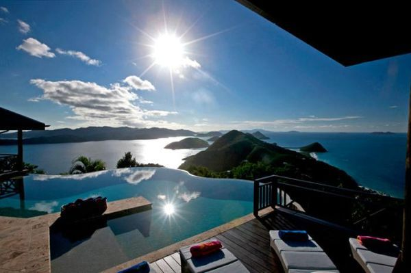 The dreamy Tingalayo estate in the Caribbean - one day I shall go... one day ;op