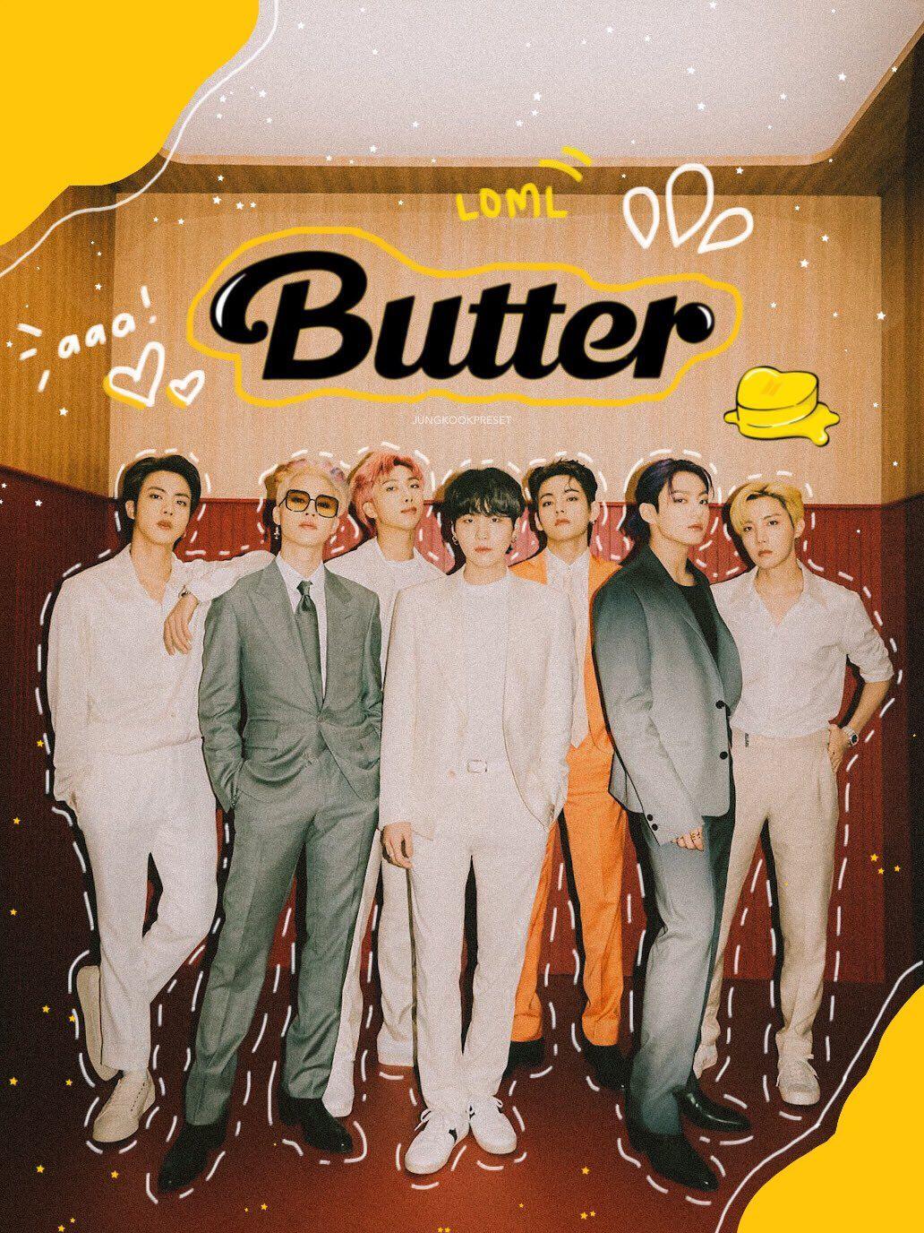 Bts Butter Group Teaser Photo 1 In 2021 Bts Wallpaper Bts Lockscreen Bts Pictures Bts butter video wallpaper