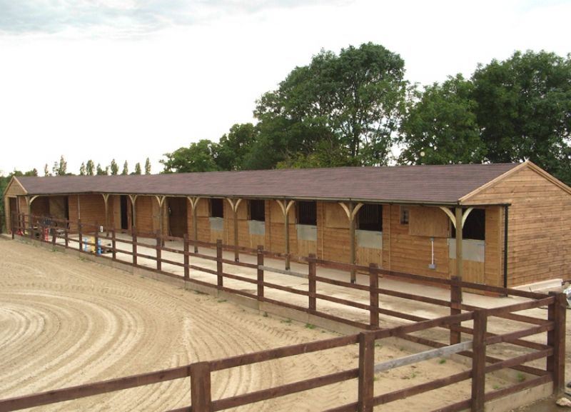 Shape Layout Felt Shingles Equestrian Buildings