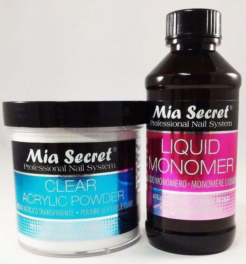 Details about Mia Secret Liquid Monomer 4 oz and Mia