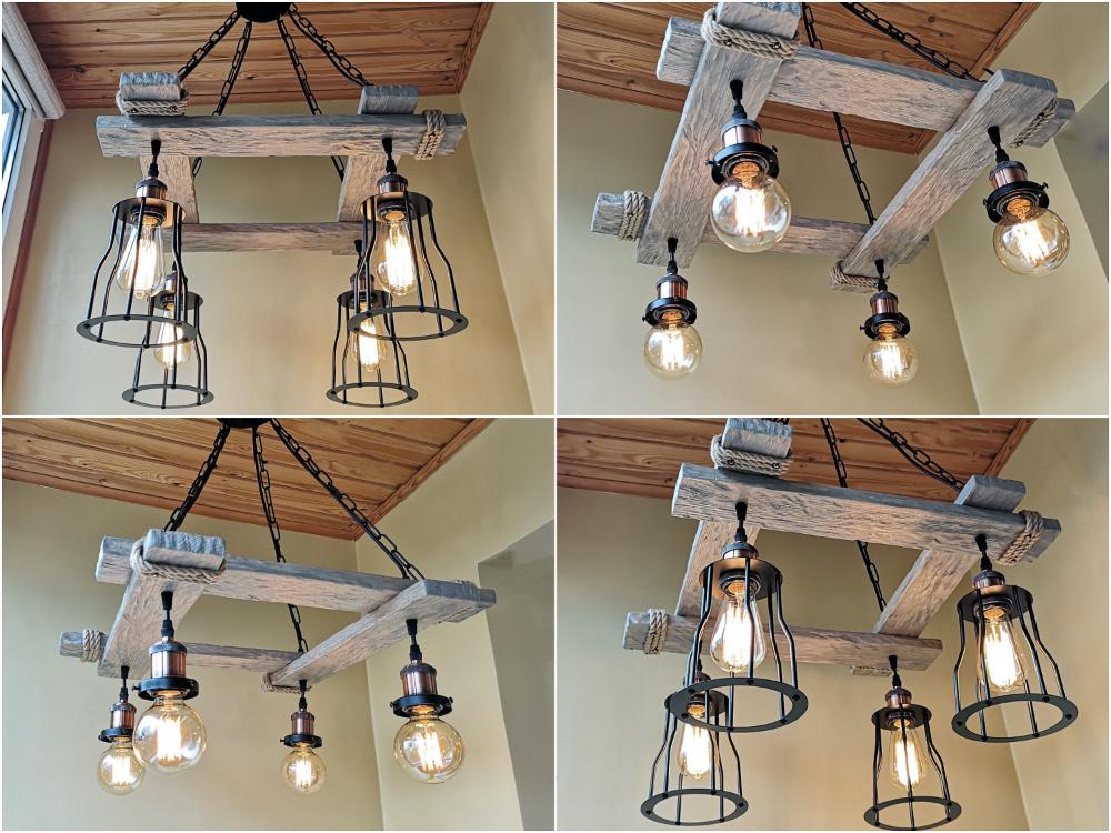 Rustic Light Fixture Silver Hanging Light In 2020 Rustic Light Fixtures