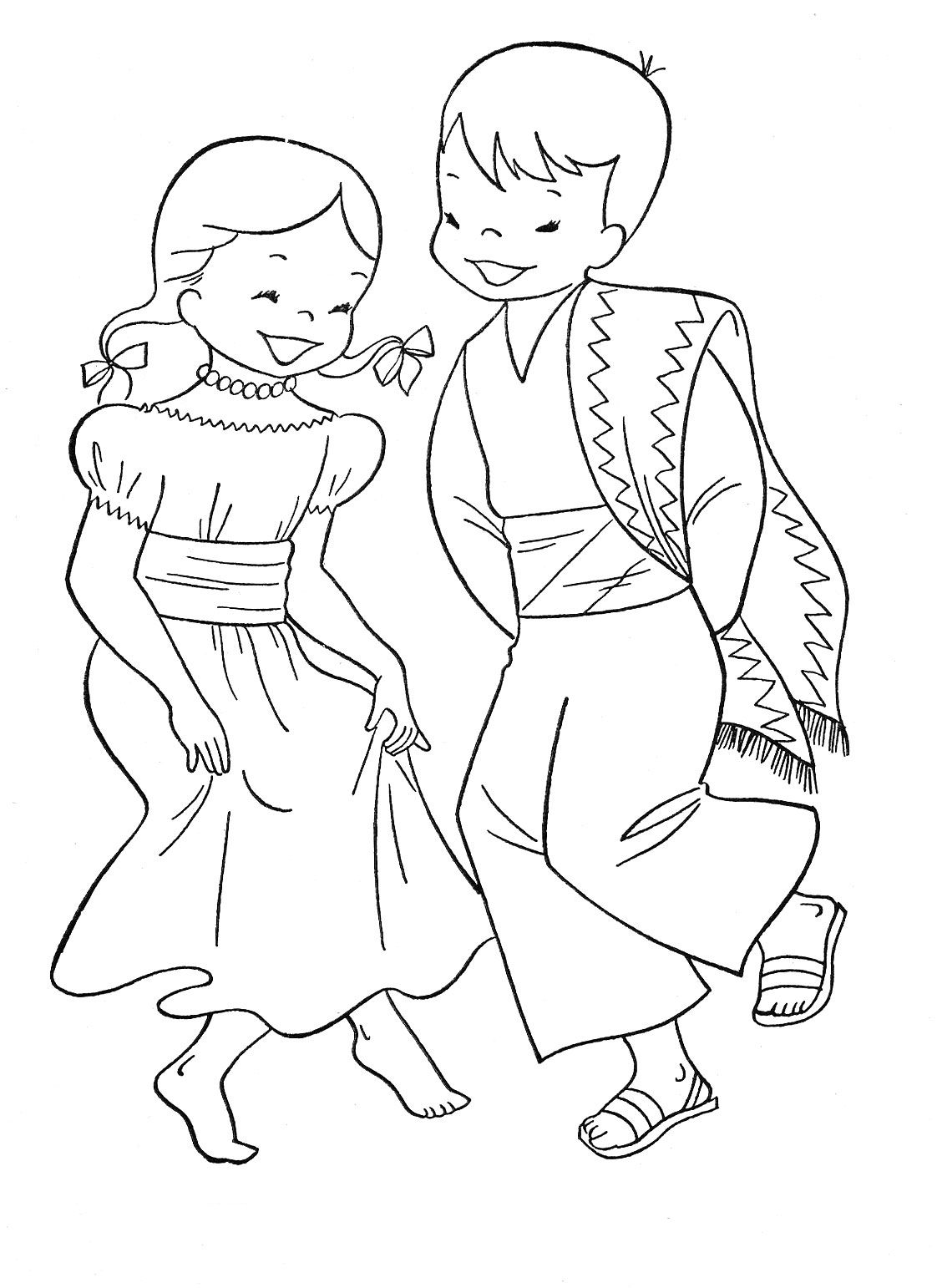 Cinco De Mayo Coloring Pages Dance Coloring Pages Coloring
