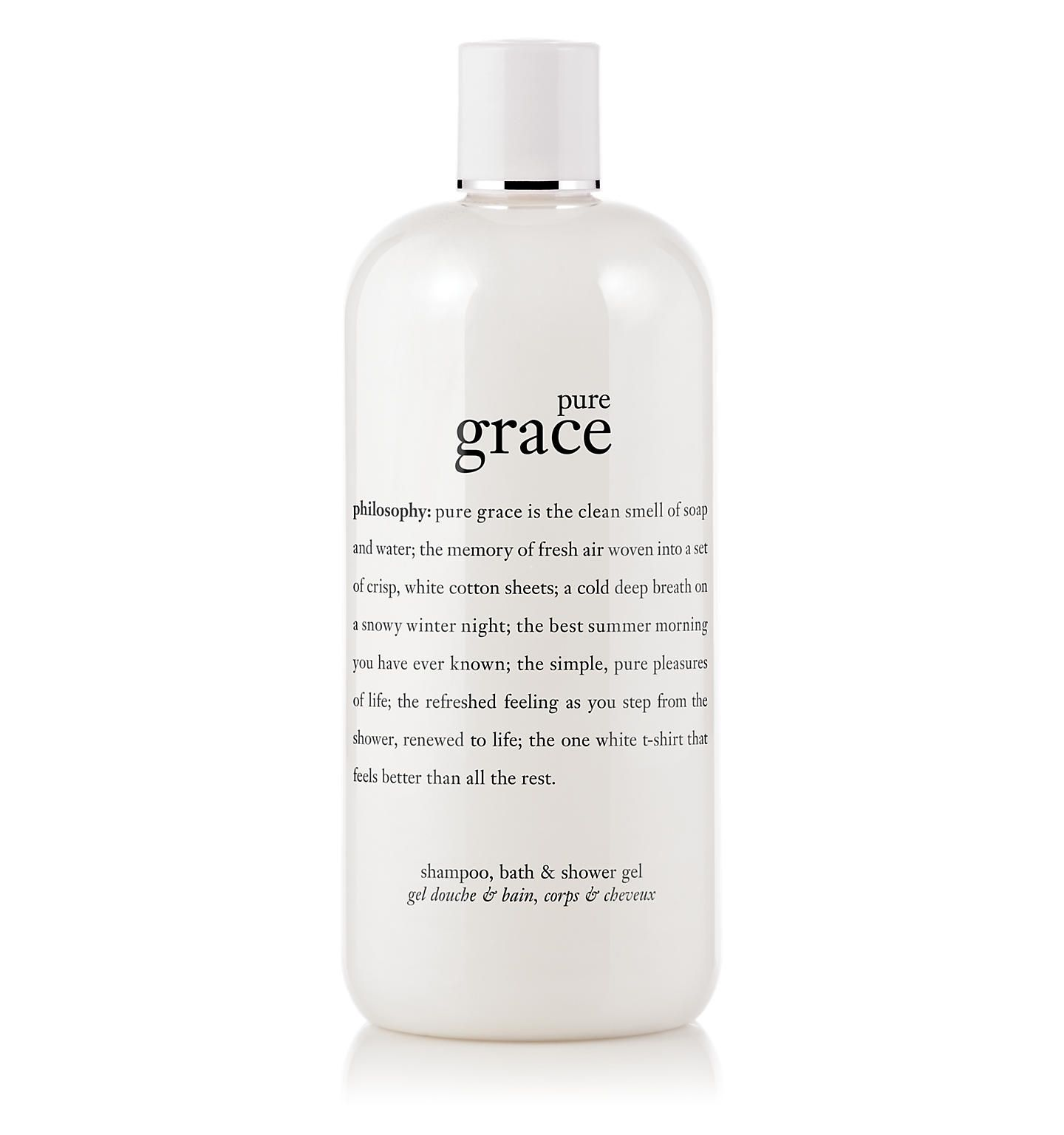 Pure Grace Shampoo Bath Shower Gel Philosophy Treat Yo