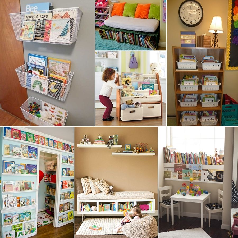 10 Cool And Creative Kids Book Storage Ideas Kids Book Sto