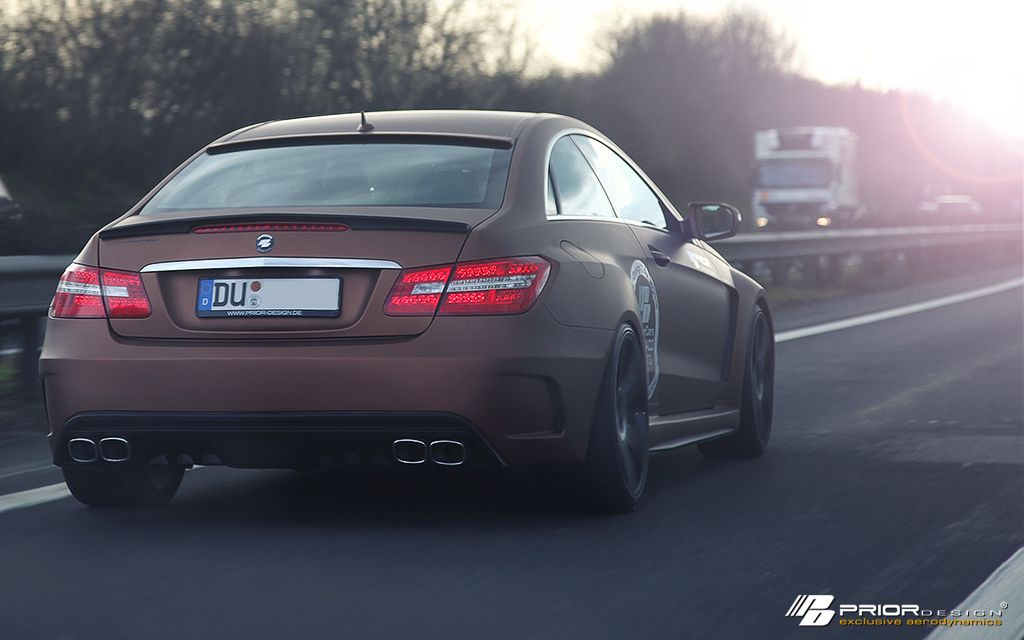 Mercedes E Class Coupe Pd850 Black Edition Widebody C207 Prior