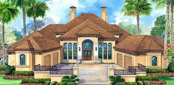 Elegant Motor Court and High Ceilings - 36127TX | European, French Country, Mediterranean, Luxury, Photo Gallery, Premium Collection, 1st Floor Master Suite, Butler Walk-in Pantry, CAD Available, Den-Office-Library-Study, Media-Game-Home Theater, PDF, Split Bedrooms | Architectural Designs
