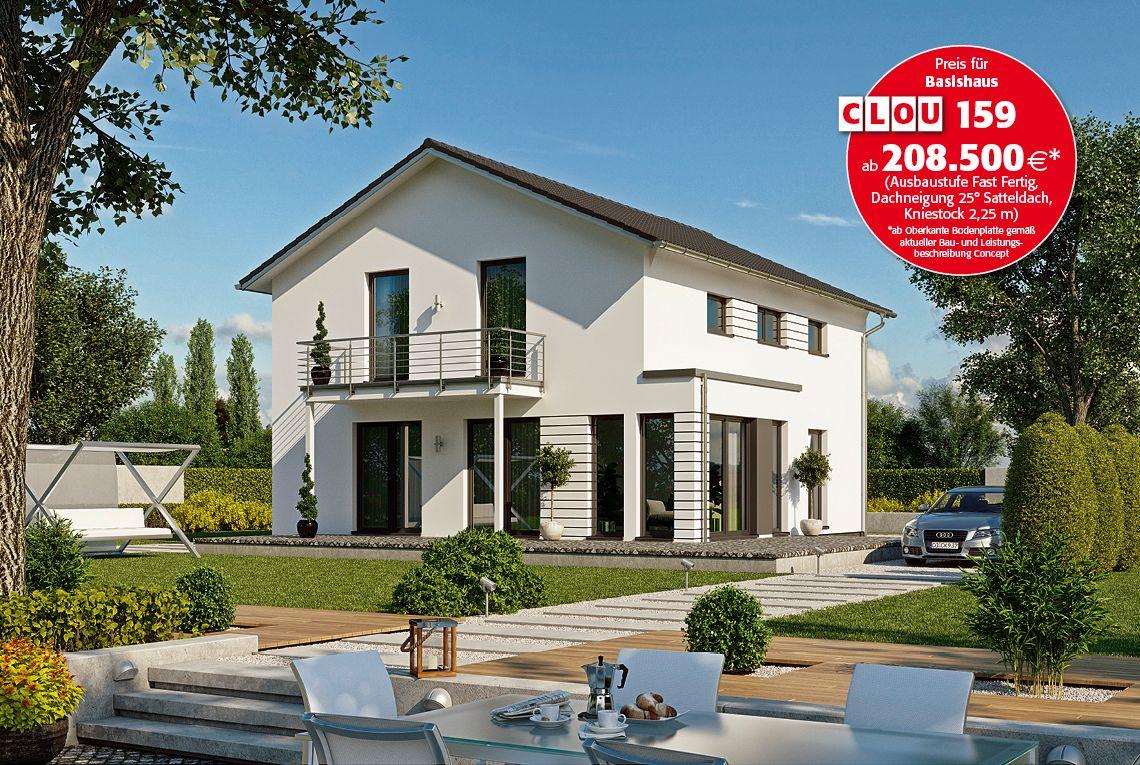 CLOU 159 - RENSCH-HAUS GMBH | Haus, Hausbau fassade und Haus ...