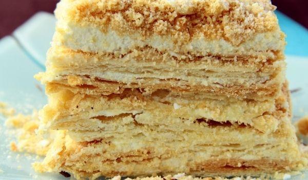 Greek Orange Cake With Filo Pastry