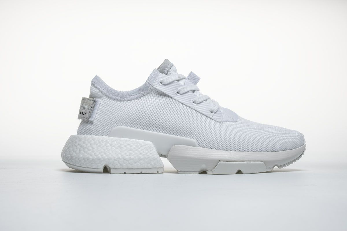 Adidas POD S3 1 Boost B37452 Triple White Shoes3 | Adidas