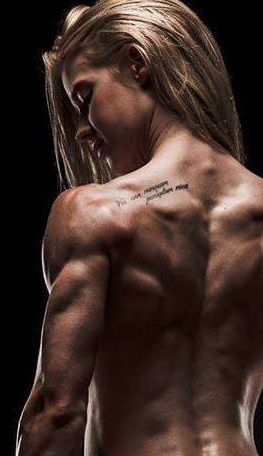 Alison Eastham  amazing back and love the tattoo!!!