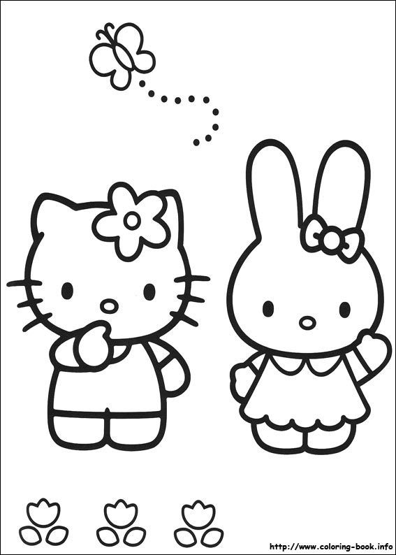 Hello Kitty Coloring Pages Free For Kids Educational Fun Kids Coloring Pages And Preschool Sk Hello Kitty Coloring Hello Kitty Colouring Pages Kitty Coloring