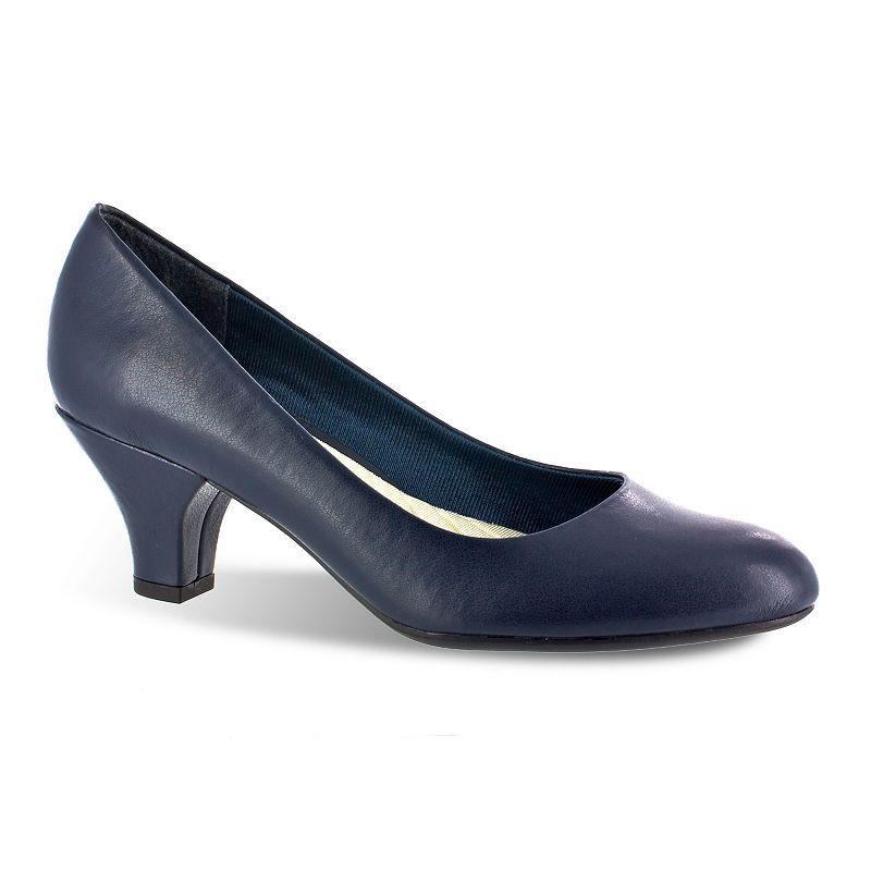 Easy Street Fabulous Women's Dress Heels, Size: medium (9.5), Blue