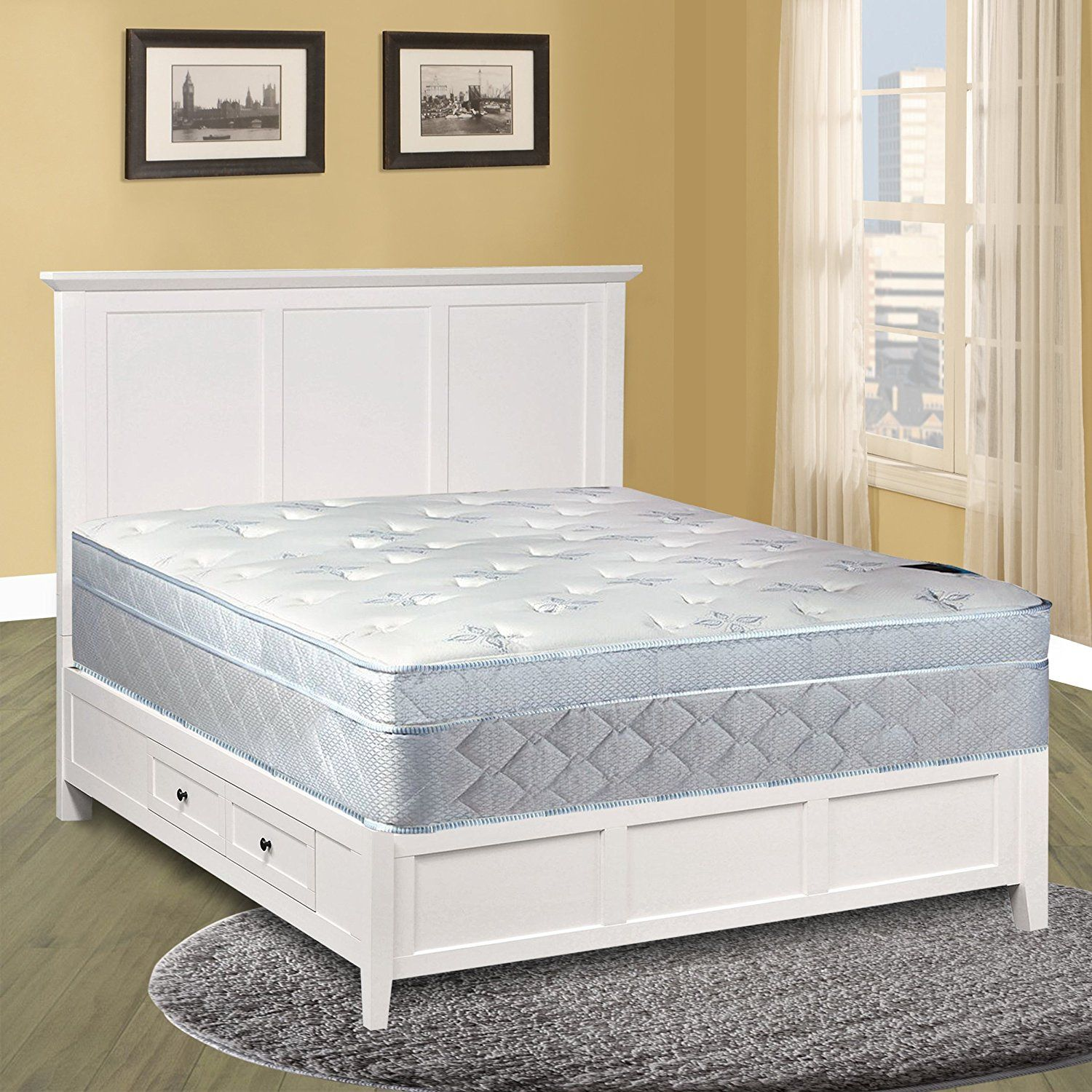 Spinal Solution Mattress, 10' Pillowtop Eurotop , Fully