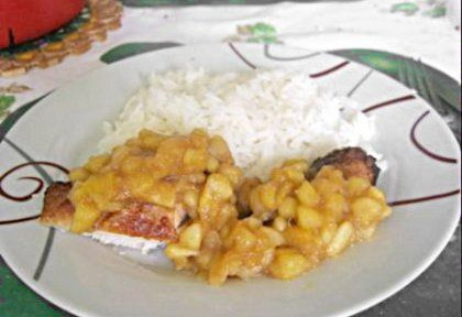 Fahéjas almás csirkemell jázmin rizzsel | NOSALTY – receptek képekkel
