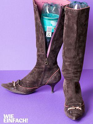 Tipp des Tages: Stiefelhalter