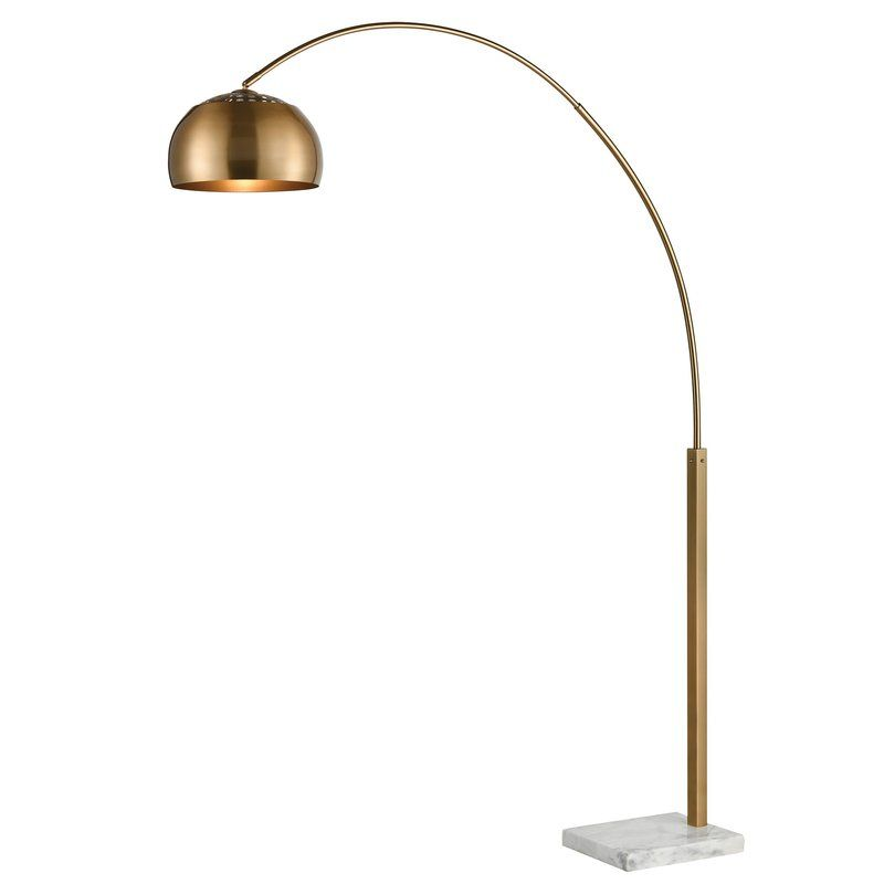 Sprague 77 Arched Floor Lamp Arched Floor Lamp Nickel Floor Lamp Lamp