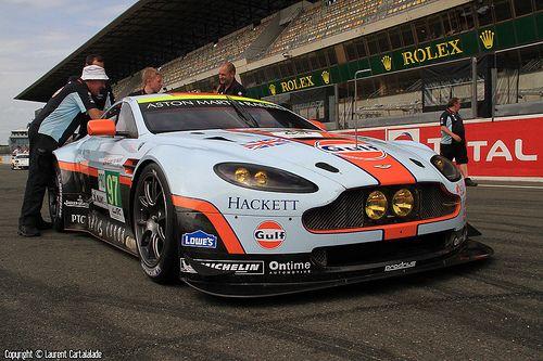 N°97 - ASTON MARTIN RACING - LM GTE Pro - GBR - ASTON MARTIN VANTAGE V8
