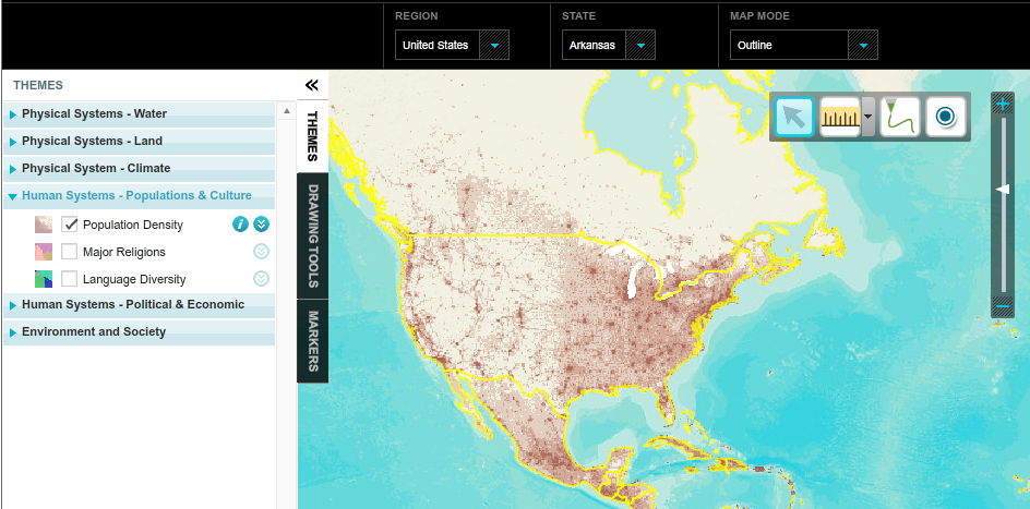 Nat Geo MapMaker | Map Makers | Map maker, Map, Geo