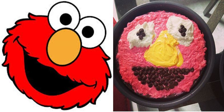 10 Hilariously Bad Character Cakes Elmo Needs To Find His