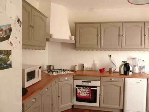 Avant apr s bye bye la cuisine d fra chie cuisine repeindre cuisine cuisine rustique - Renover la cuisine ...
